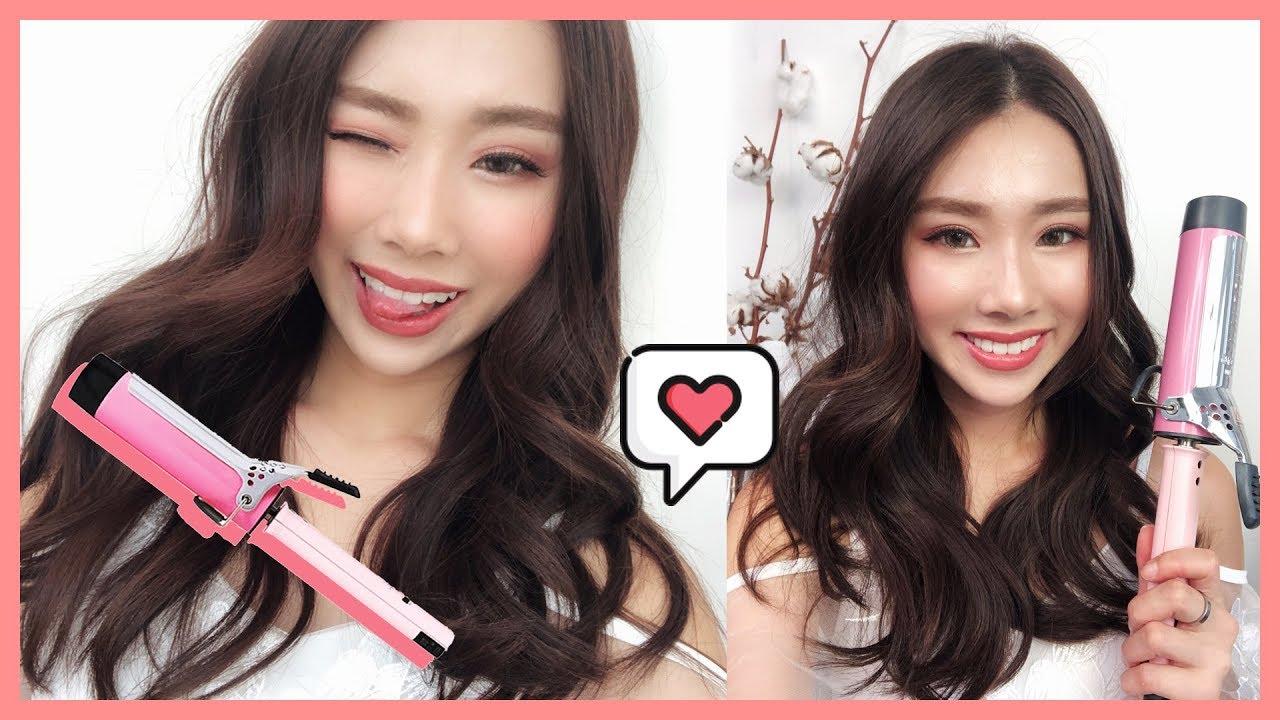 Big Loose Korean Curls For Valentines Mongabong Youtube