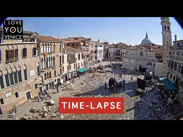 An Action Movie in Venice TimeLapse - Venice in Motion