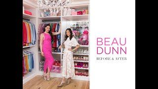 Beau Dunn Closet Makeover - Before & After