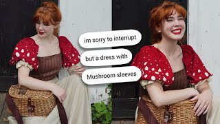 Someone Asked Me to Make Mushroom Sleeves, so I did