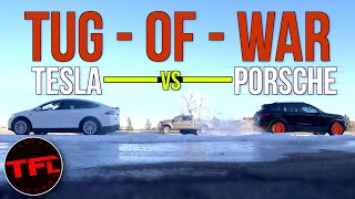 it-s-on-tesla-model-x-vs-porsche-cayenne-turbo-vs-ford-f-250-tug-of-war