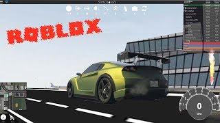 TANNER FOX GTR! Vehicle simulator Roblox!