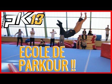 PK13 // Reportage Ecole de Parkour Marseille 2017