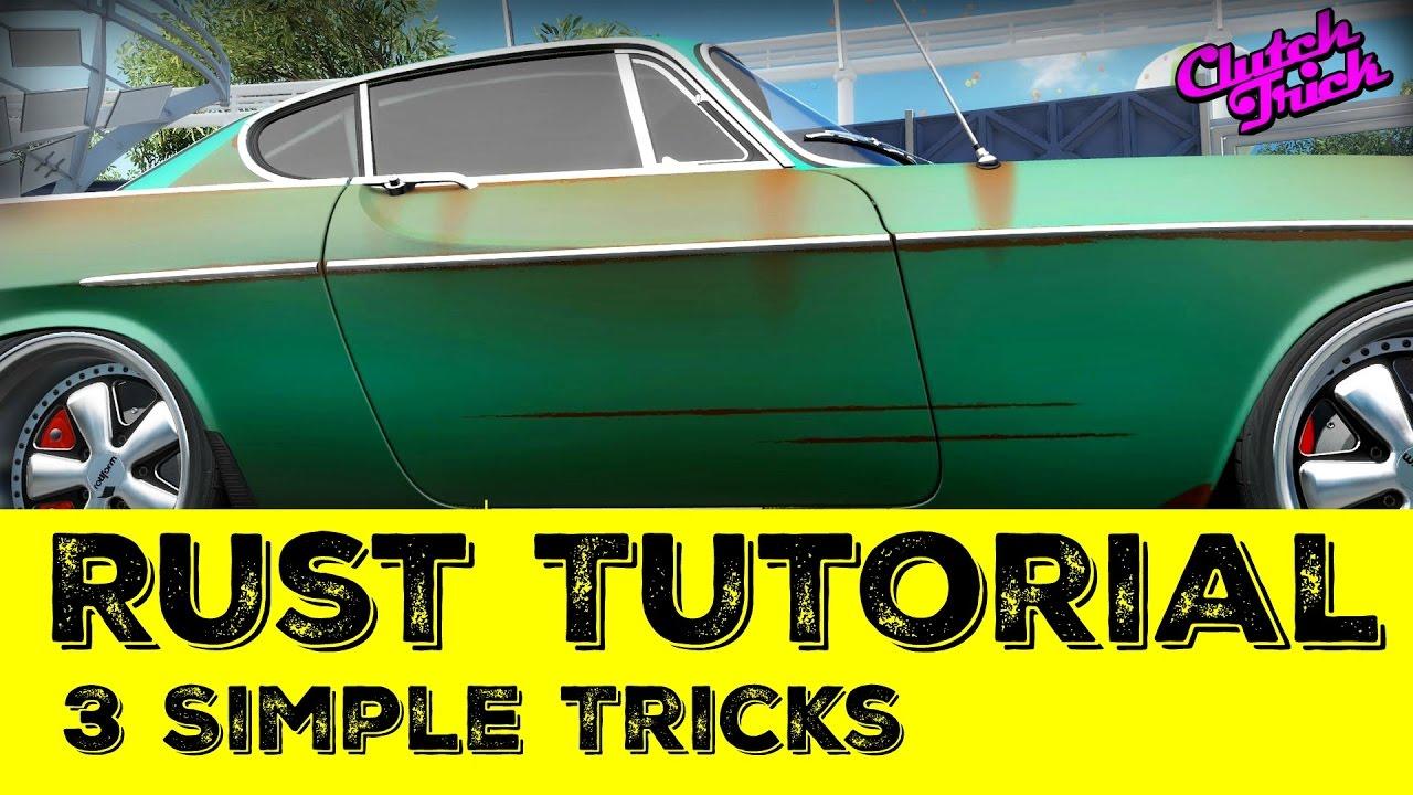 How to Paint Rust: Tutorial {Forza Horizon 3}