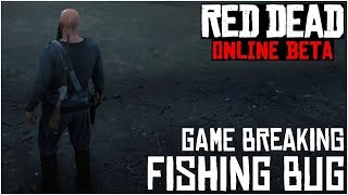 BE CAREFUL WITH THE WORM BAIT (Game Breaking Bug)!! - Red Dead Redemption 2 Online Fishing Bug