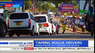 Gambar cover Meru County Base Commander-Vincent Okoth warns drivers of drunk driving within the County