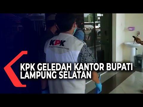 KPK Kembali Geledah Kantor Bupati Lampung Selatan