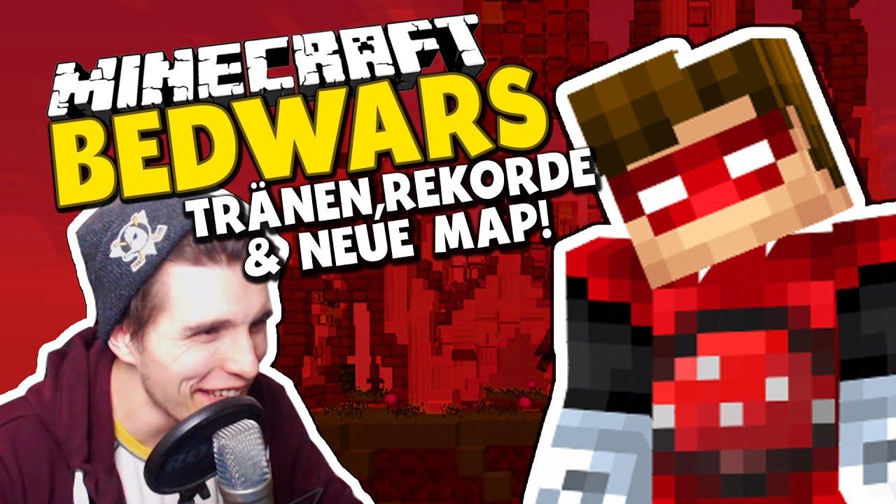 TRÄNEN,REKORDE & EINE NEUE MAP! ✪ Runde Minecraft Bedwars Woche Tag ...