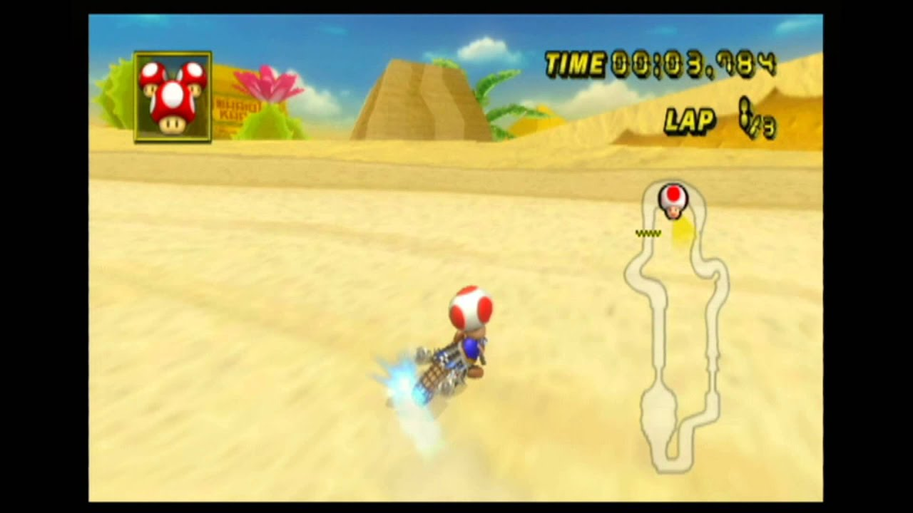 mario kart wii key checkpoint maps
