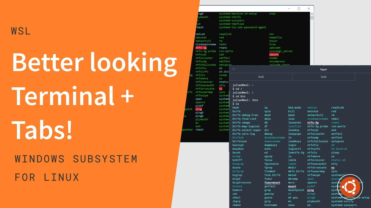 WSL Terminal colors, tabs & styling - Windows subsystem for Linux series  (Ep  3)
