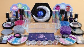 'One Color Series Season 7' Mixing 'GALAXY'Makeup,More Stuff &GALAXY Slime Into slime!