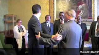 Somali Prime Minister meets the British Foreign Secretary