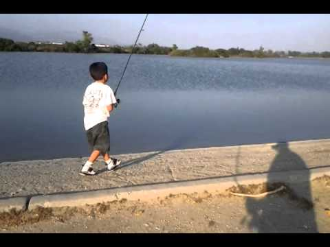 eric fishing santa fe dam youtube