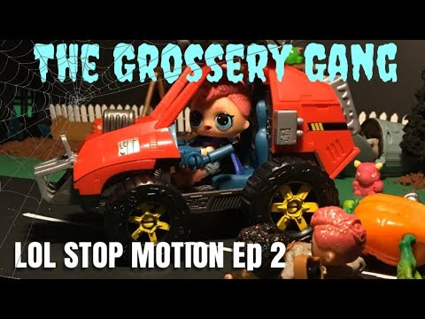 LOL Surprise! LOL Stop Motion Miniseries! Ep 2 - The Grossery Gang #lolsurprise