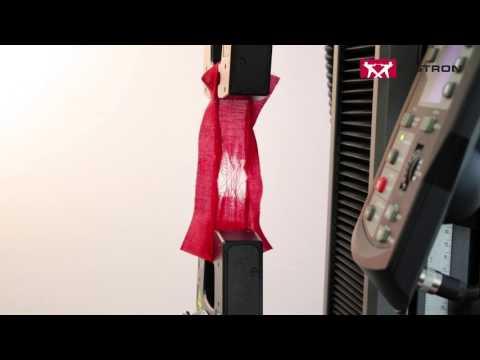 Instron® | ISO 13934-2 Tensile Properties of Fabrics