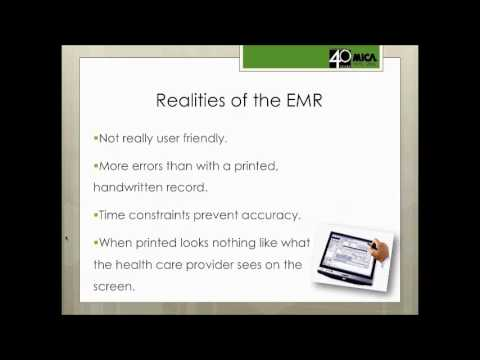 Lunch & Law: EMR Litigation Issues