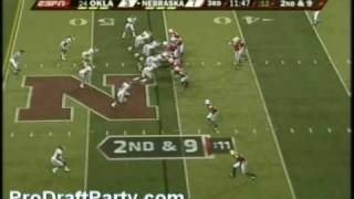 DT Gerald McCoy Highlights/Lowlights 2009 Oklahoma Part 2