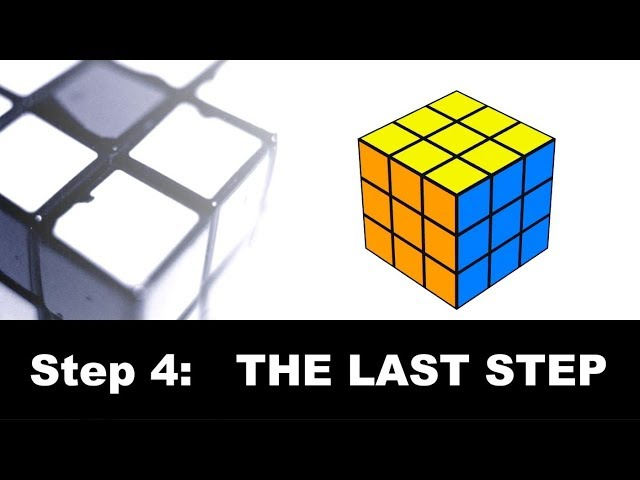 How To Solve The Yellow Corners Of The Rubiks Cube