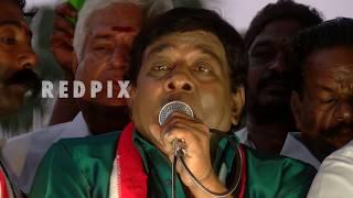 singamuthu comedy speech at rk nagar tamil live news, tamil news today, tamil, latest news, redpix