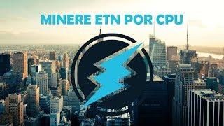 COMO MINERAR ELECTRONEUM COM CPU *INTEL*AMD*
