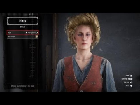 Red Dead Online - Character Creation (Female) & Hairstyles