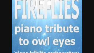 Fireflies by Owl City - Piano cover by Piano Tribute Conservatory