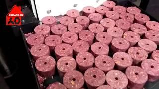 Оборудование для производства брикетов из соли, угля, других смесей