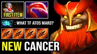 NEW Mars in 7.23 is Absolutely Broken! Crazy Meta First Item Atos + IMBA God's Rebuke 1 Shot ALL