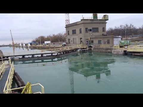 Views of Lock 7 drained, Welland Canal, 2019из YouTube · Длительность: 4 мин47 с