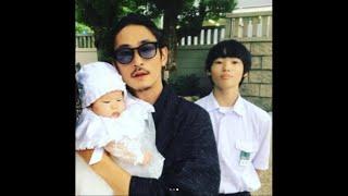 【エンタがビタミン♪】窪塚洋介&PINKY 家族写真に「こんなにカッコいい...