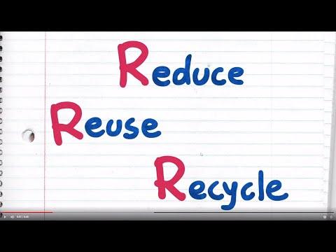 Kid Power: Reduce, Reuse, Recycle
