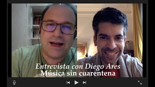 Música sin cuarentena - Entrevista con Diego Ares - Michael Thallium