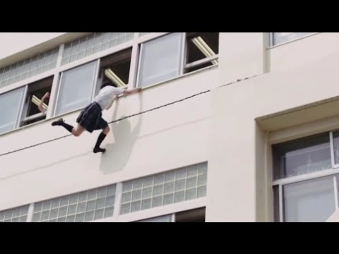 Real Life Naruto Japanese Girl Ninja in Action Again MUST WATCH