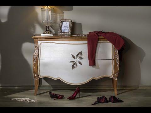 Коллекция мебели для спальни и гостиной «Трио»
