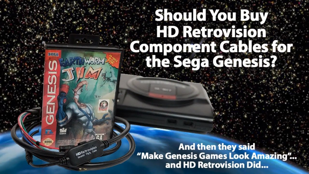 Should You Buy HD Retrovision RGB Component Video Cables for the Model 1 &  Model 2 Sega Genesis