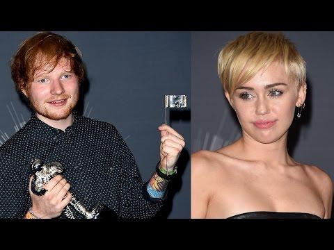 Miley Cyrus Calls Ed Sheeran A** Hole During MTV VMAs?