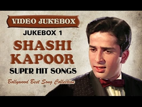 Shashi Kapoor Super hit Songs - Jukebox 1 - Bollywood Best Song Collection