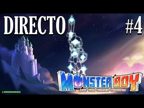 Monster Boy The Cursed Kingdom - Directo #4 Español - Juego 100% - Final Secreto - Ending - Switch thumbnail
