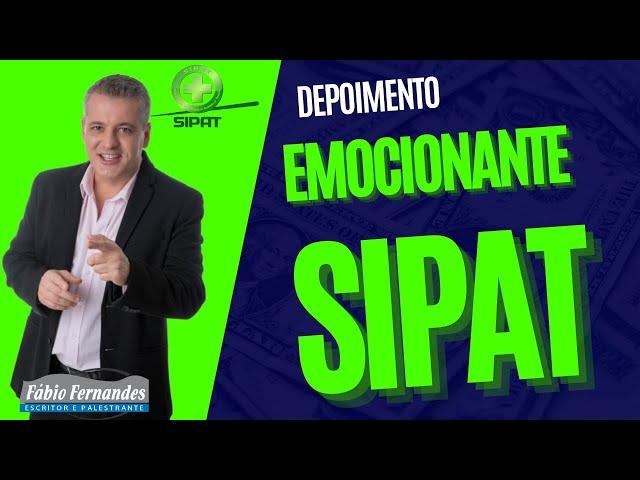 PALESTRA MOTIVACIONAL Segurança do Trabalho [ SIPAT ]