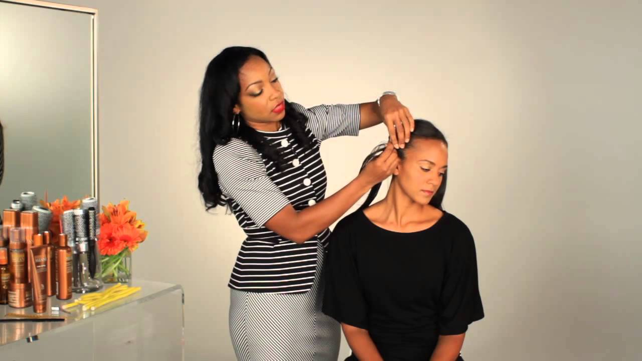How To Make African American Relaxed Hair To Look