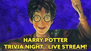 Harry Potter Trivia Night LIVE STREAM!