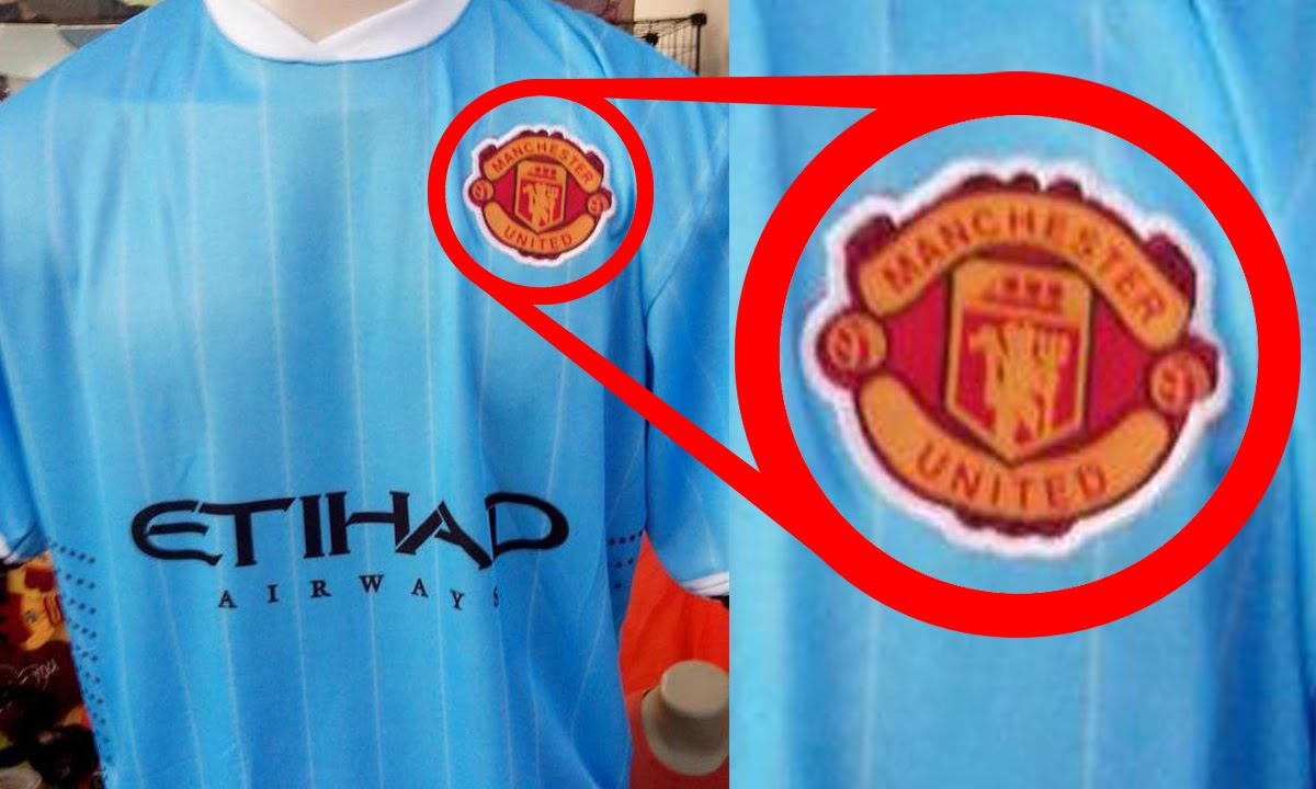 size 40 d9951 e18f4 Top 10 Funniest Rip-Off Football Kits | Ft. Man United, City, Arsenal &  Chelsea