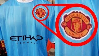 Top 10 Funniest Rip-Off Football Kits | Ft. Man United, City, Arsenal & Chelsea