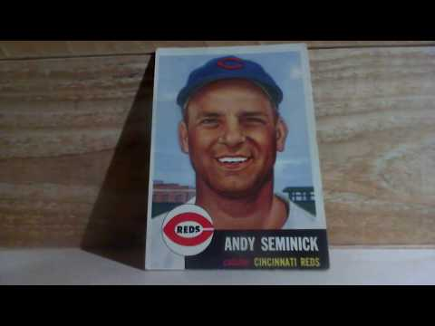 1953 Topps Andy Seminick