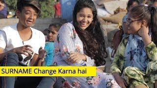 SRK Saying Aapka SURNAME Change Karna Hai| Bantai It