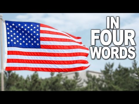 AMERICA in 4 words (YIAY #122)