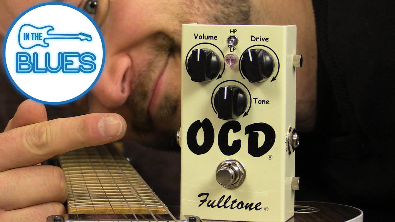 fulltone ocd overdrive pedal youtube