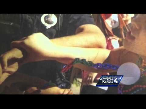 Police union says picture shows cop was grabbed during Pridefest incident