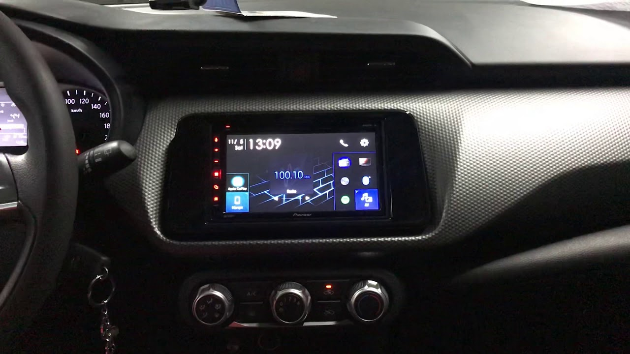Central Multimídia Pioneer Avhz5280tv Nissan kicks