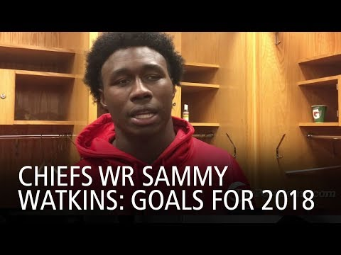 Chiefs WR Sammy Watkins: Goals For 2018